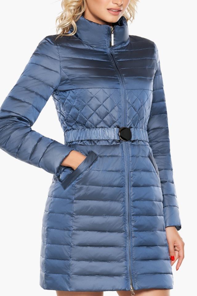 """Осенне-весенняя женская куртка цвет ниагара модель 39002 Braggart """"Angel's Fluff"""" фото 6"""