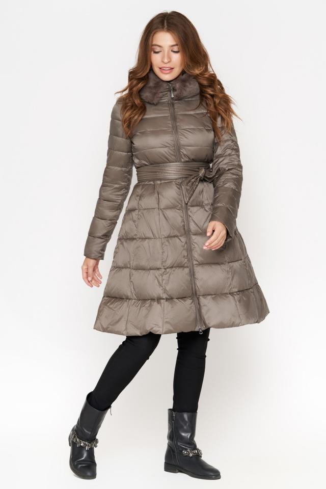 Куртка женская осенне-весенняя цвет капучино модель 7319 Monte Cervino фото 2