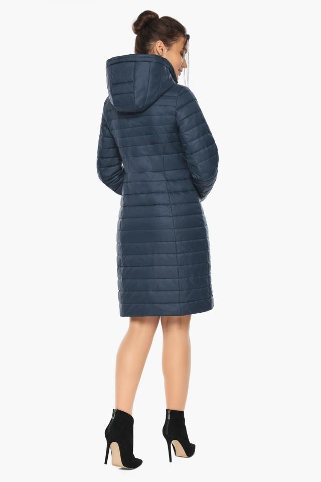 """Синяя куртка женская с карманами модель 68410 Braggart """"Angel's Fluff"""" фото 6"""