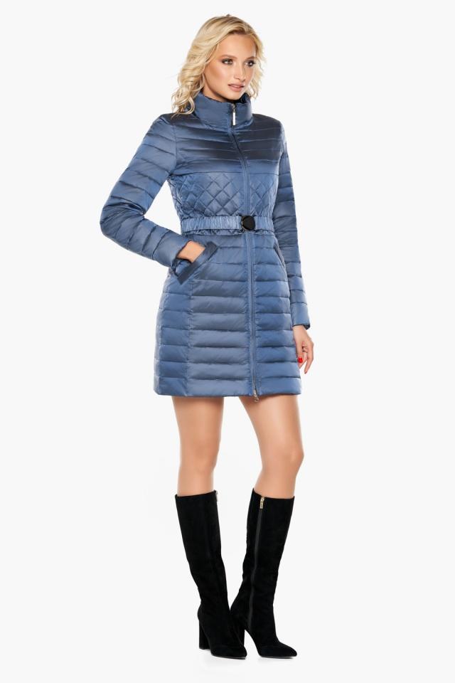 """Осенне-весенняя женская куртка цвет ниагара модель 39002 Braggart """"Angel's Fluff"""" фото 2"""