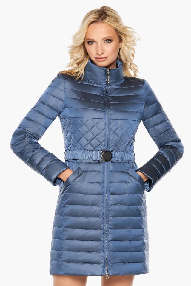 """Осенне-весенняя женская куртка цвет ниагара модель 39002 Braggart """"Angel's Fluff"""" фото 3"""