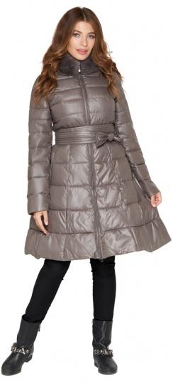 Куртка серая женская на молнии осенне-весенняя модель 7319 Monte Cervino фото 1
