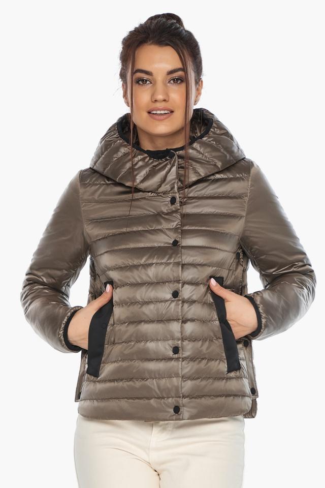 """Капучиновая совершенная женская куртка модель 64150 Braggart """"Angel's Fluff"""" фото 5"""