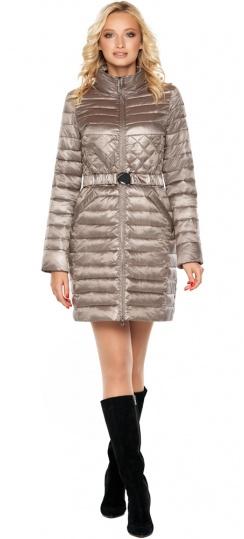 """Осенне-весенняя куртка женская цвет кварцевый модель 39002 Braggart """"Angel's Fluff"""" фото 1"""