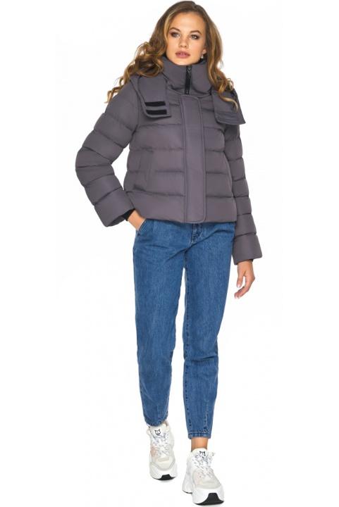 Графітова підліткова куртка образу, що полонить, для дівчини модель 21470 Youth фото 1