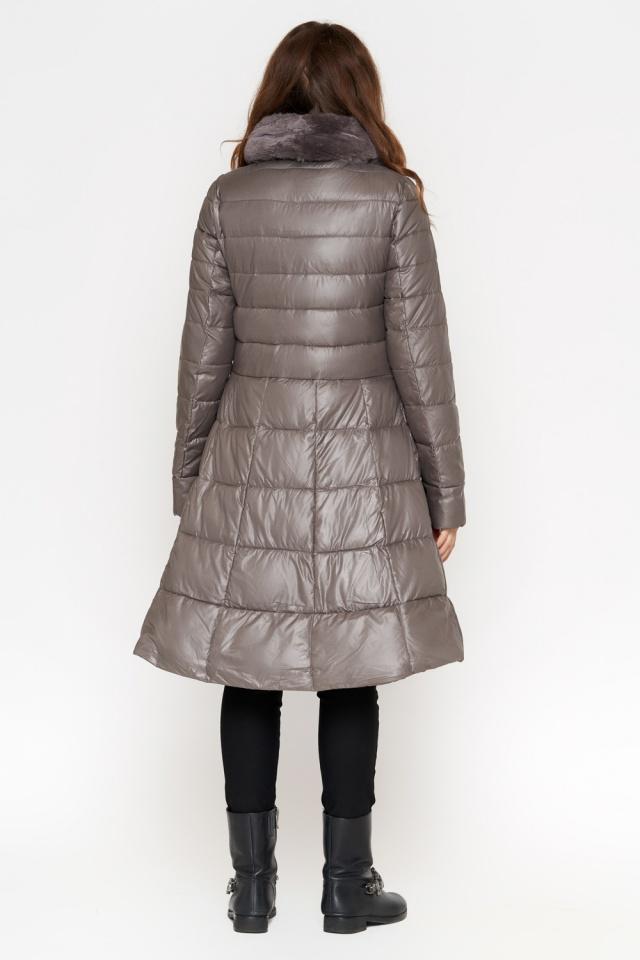 Куртка серая женская на молнии осенне-весенняя модель 7319 Monte Cervino фото 4
