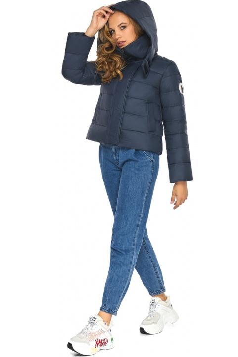 Вишукана й граціозна куртка темно-синя для підлітка модель 21470 Youth фото 1