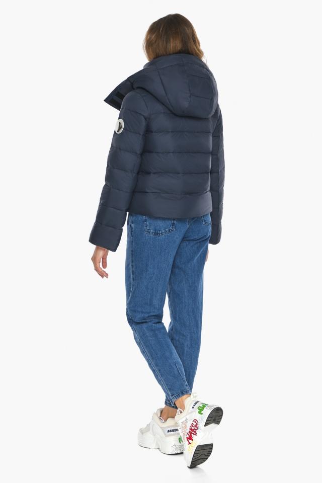 Изысканная и грациозная куртка тёмно-синяя для подростка модель 21470 Youth фото 5