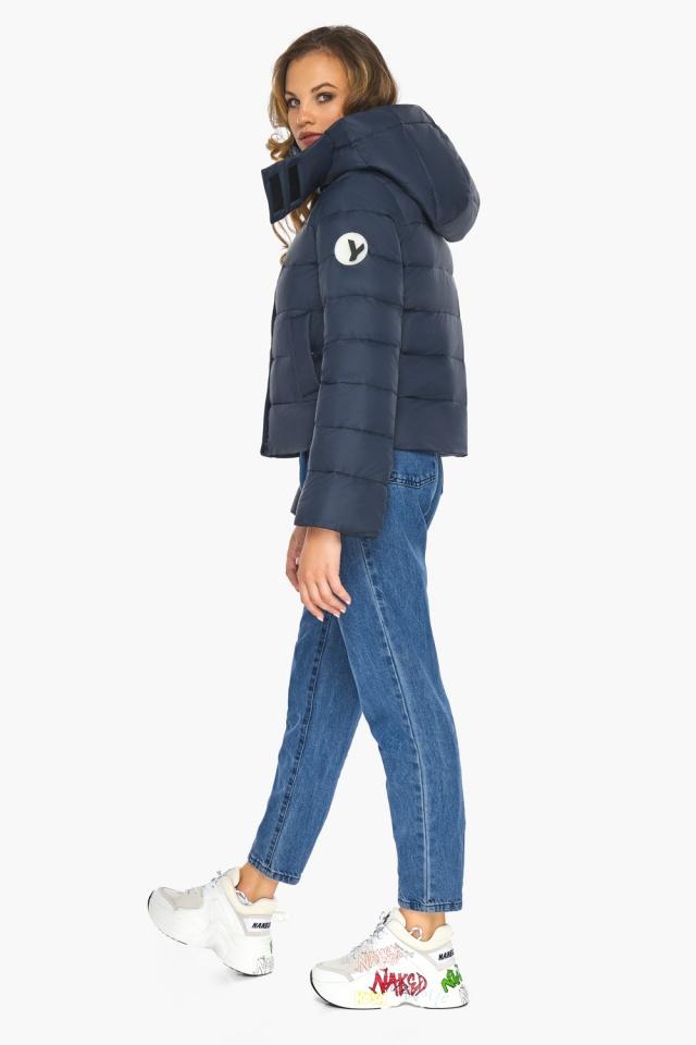 Изысканная и грациозная куртка тёмно-синяя для подростка модель 21470 Youth фото 3