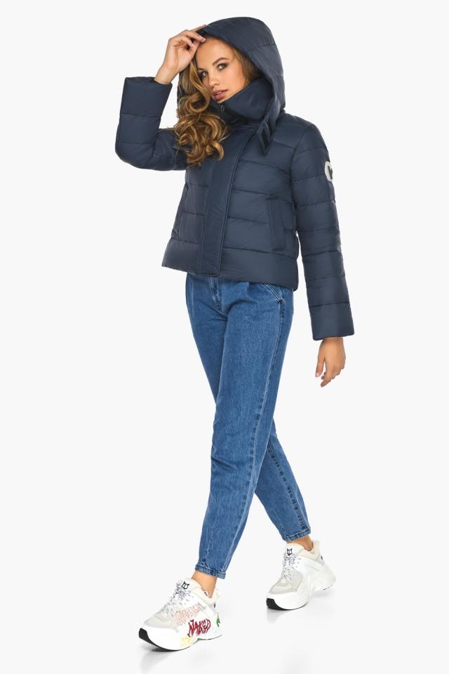 Изысканная и грациозная куртка тёмно-синяя для подростка модель 21470 Youth фото 2
