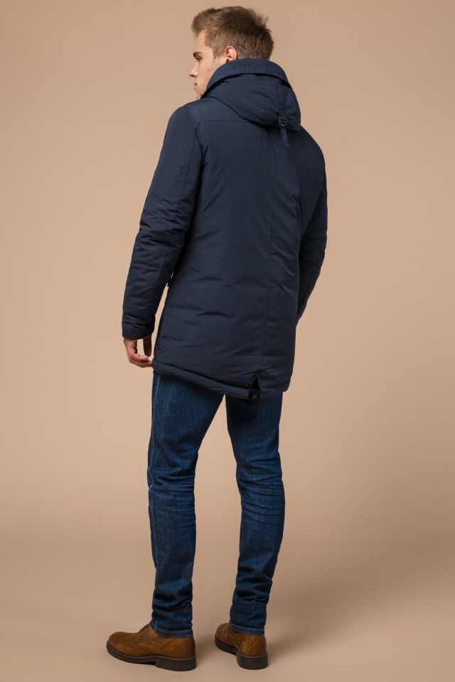 """Парка теплая синяя мужская зимняя модель 28431 Braggart """"Arctic"""" фото 5"""
