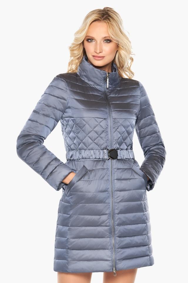 """Женская осенне-весенняя куртка цвет маренго модель 39002 Braggart """"Angel's Fluff"""" фото 3"""