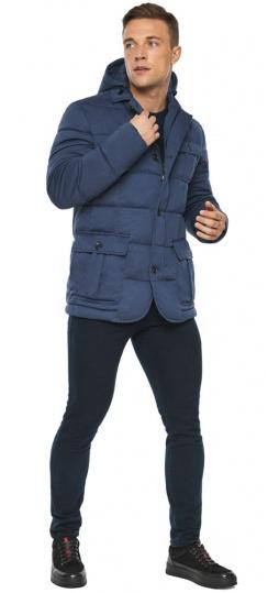 """Куртка – воздуховик зимний практичный мужской цвет джинс модель 35230 Braggart """"Angel's Fluff Man"""" фото 1"""