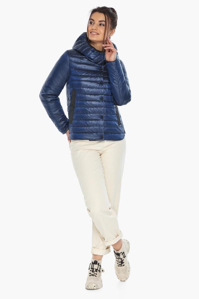 """Практичная женская куртка сапфировая модель 64150 Braggart """"Angel's Fluff"""" фото 5"""