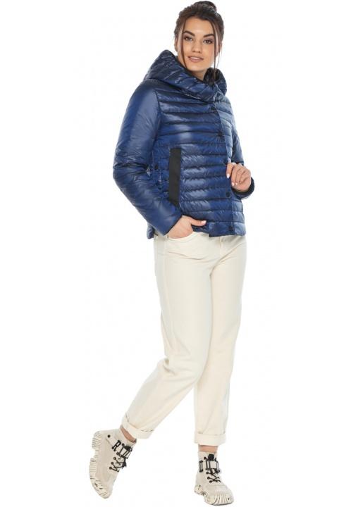"""Практичная женская куртка сапфировая модель 64150 Braggart """"Angel's Fluff"""" фото 1"""