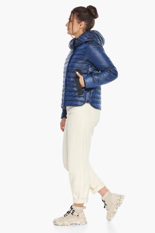 """Практичная женская куртка сапфировая модель 64150 Braggart """"Angel's Fluff"""" фото 4"""