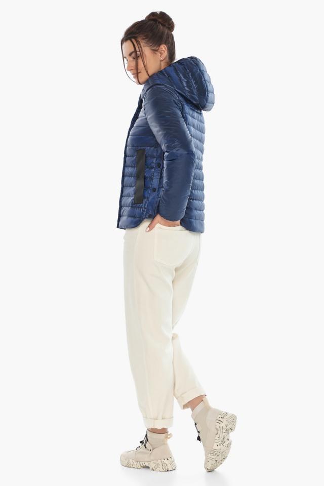 """Практичная женская куртка сапфировая модель 64150 Braggart """"Angel's Fluff"""" фото 6"""