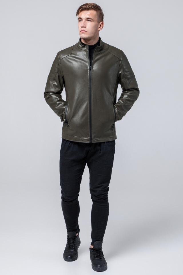 "Куртка осенне-весенняя цвета хаки мужская модель 4129 Braggart ""Youth"" фото 2"