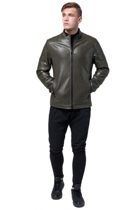 "Куртка осенне-весенняя цвета хаки мужская модель 4129 Braggart ""Youth"" фото 1"