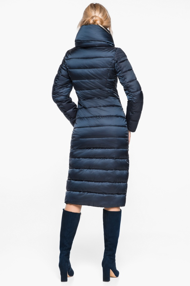 """Сапфировая практичная куртка женская модель 31074 Braggart """"Angel's Fluff"""" фото 7"""