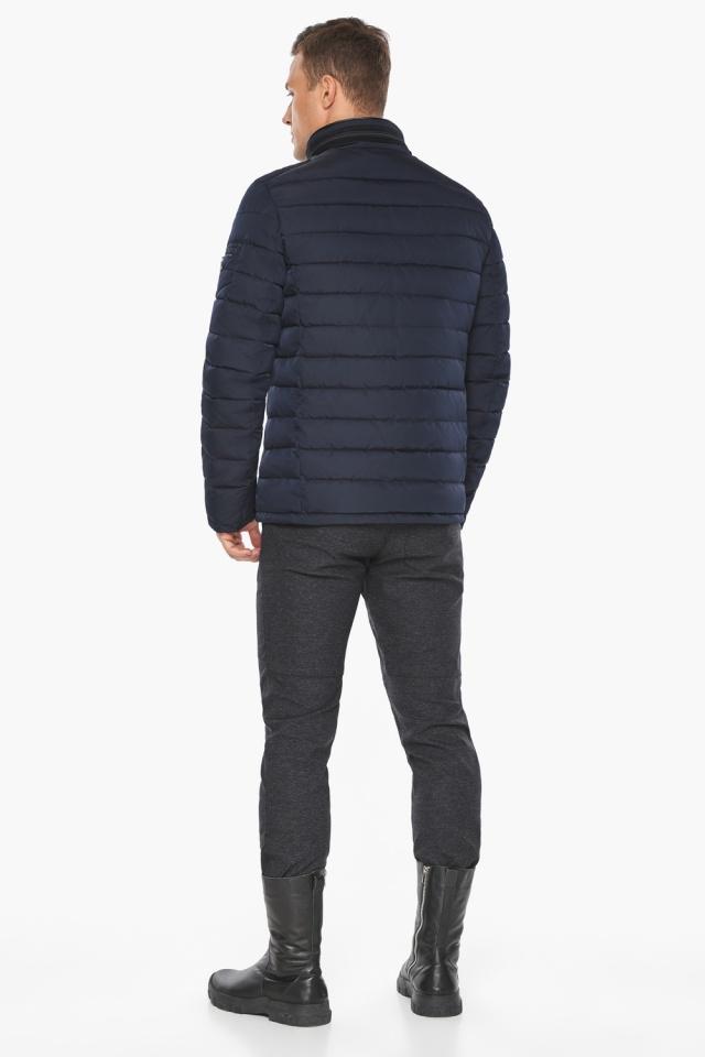 "Куртка – воздуховик с карманами зимний тёмно-синий мужской модель 52570 Braggart ""Angel's Fluff Man"" фото 7"