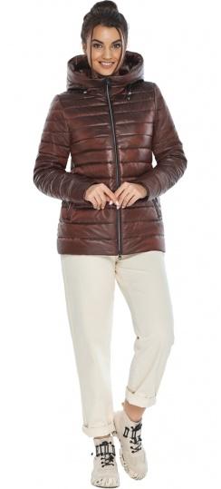 """Оригинальная куртка женская цвет каштановый модель 68240 Braggart """"Angel's Fluff"""" фото 1"""
