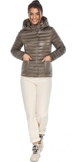 """Короткая капучиновая куртка женская модель 67510 Braggart """"Angel's Fluff"""" фото 1"""