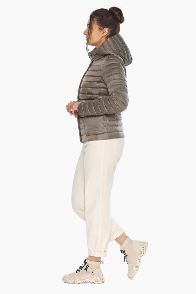"""Короткая капучиновая куртка женская модель 67510 Braggart """"Angel's Fluff"""" фото 5"""