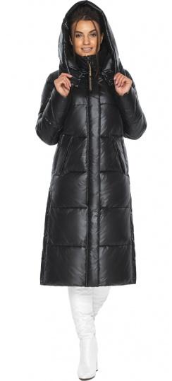 """Куртка женская длинная черная модель 41565 Braggart """"Angel's Fluff"""" фото 1"""