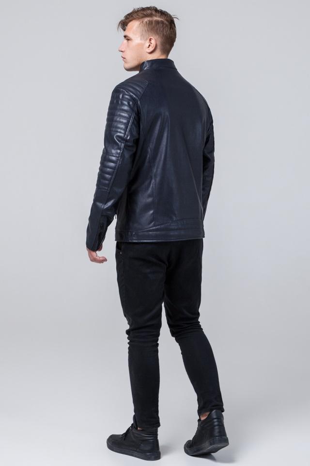 """Темно-синяя куртка стандартной длины осенне-весенняя мужская модель 4327 Braggart """"Youth"""" фото 5"""