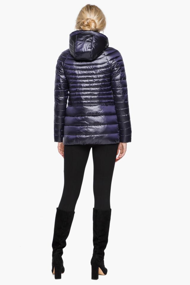 """Фирменная фиолетовая куртка женская осенне-весенняя модель 15115 Braggart """"Angel's Fluff"""" фото 5"""