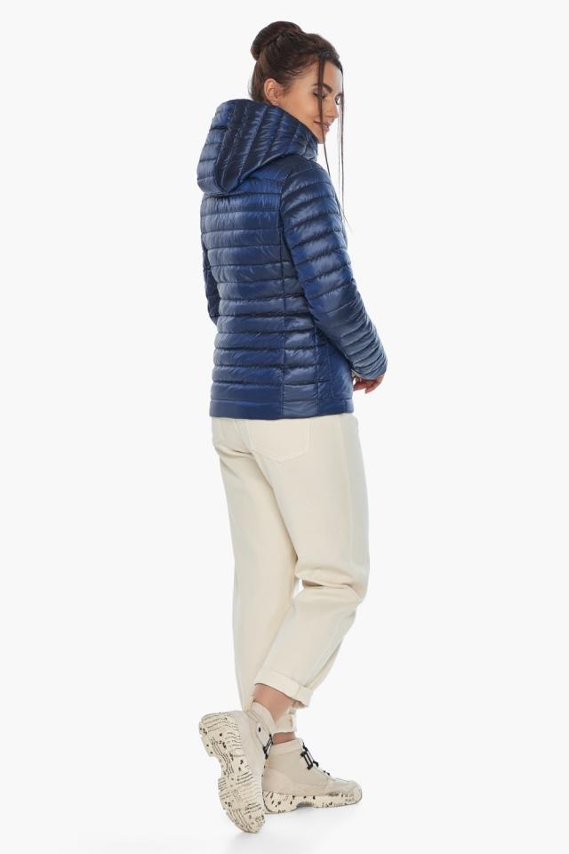 """Куртка сапфировая женская с капюшоном модель 67510 Braggart """"Angel's Fluff"""" фото 6"""