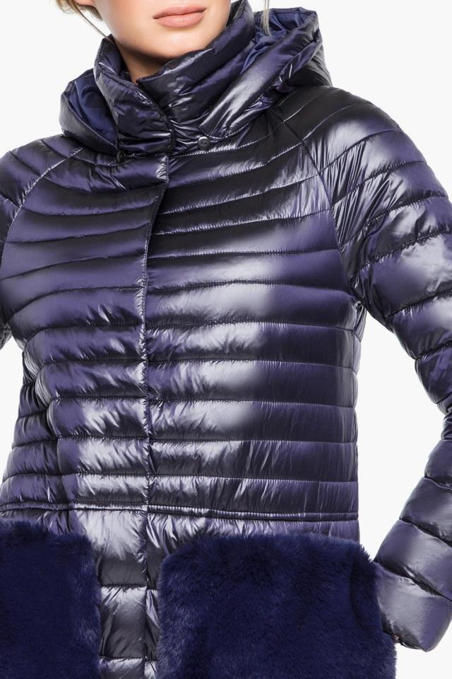 """Фирменная фиолетовая куртка женская осенне-весенняя модель 15115 Braggart """"Angel's Fluff"""" фото 6"""