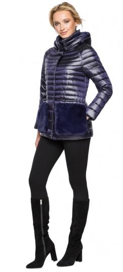 """Фирменная фиолетовая куртка женская осенне-весенняя модель 15115 Braggart """"Angel's Fluff"""" фото 1"""