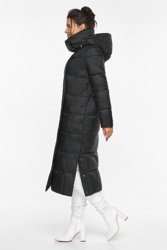 "Чёрная куртка зимняя тёплая женская модель 41830 Braggart ""Angel's Fluff"" фото 6"