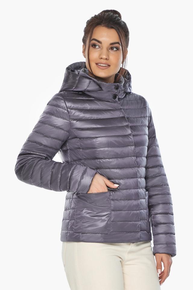 """Лавандовая куртка женская фирменная модель 67510 Braggart """"Angel's Fluff"""" фото 5"""