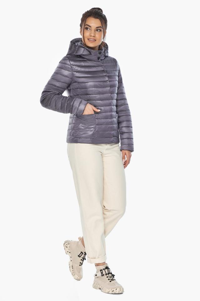 """Лавандовая куртка женская фирменная модель 67510 Braggart """"Angel's Fluff"""" фото 2"""