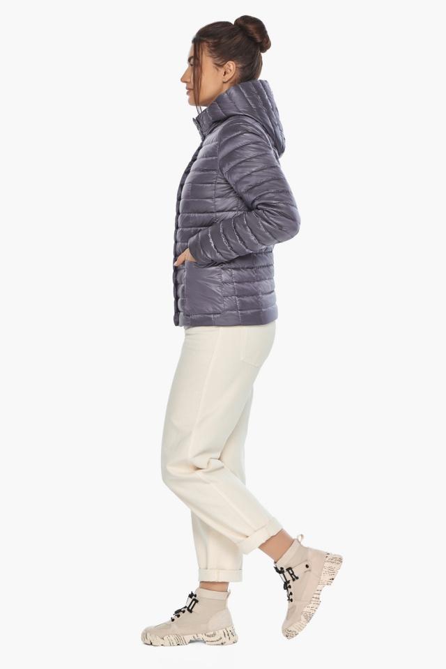 """Лавандовая куртка женская фирменная модель 67510 Braggart """"Angel's Fluff"""" фото 6"""