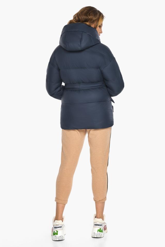 Исключительная куртка – осень с большими карманами синяя модель 24350 Youth фото 5