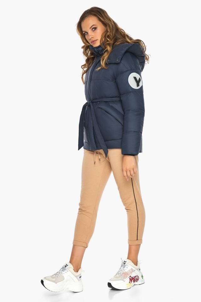 Исключительная куртка – осень с большими карманами синяя модель 24350 Youth фото 3