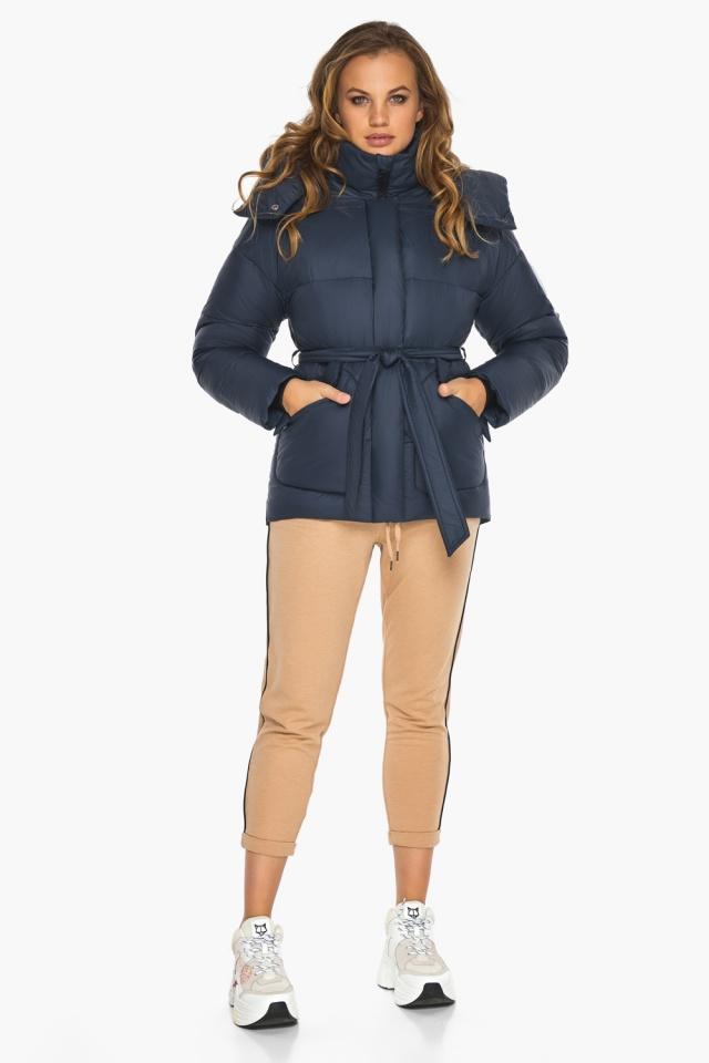 Исключительная куртка – осень с большими карманами синяя модель 24350 Youth фото 2