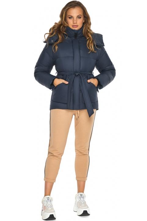Виняткова куртка – осінь з великими кишенями синя модель 24350 Youth фото 1