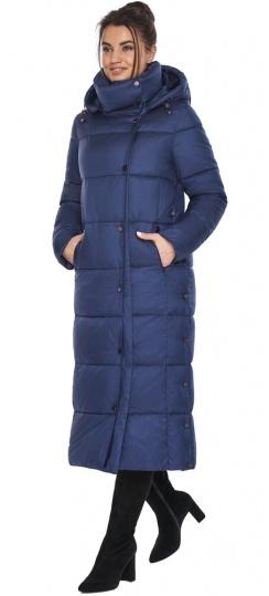 "Куртка женская зимняя цвет синий бархат модель 41830 Braggart ""Angel's Fluff"" фото 1"