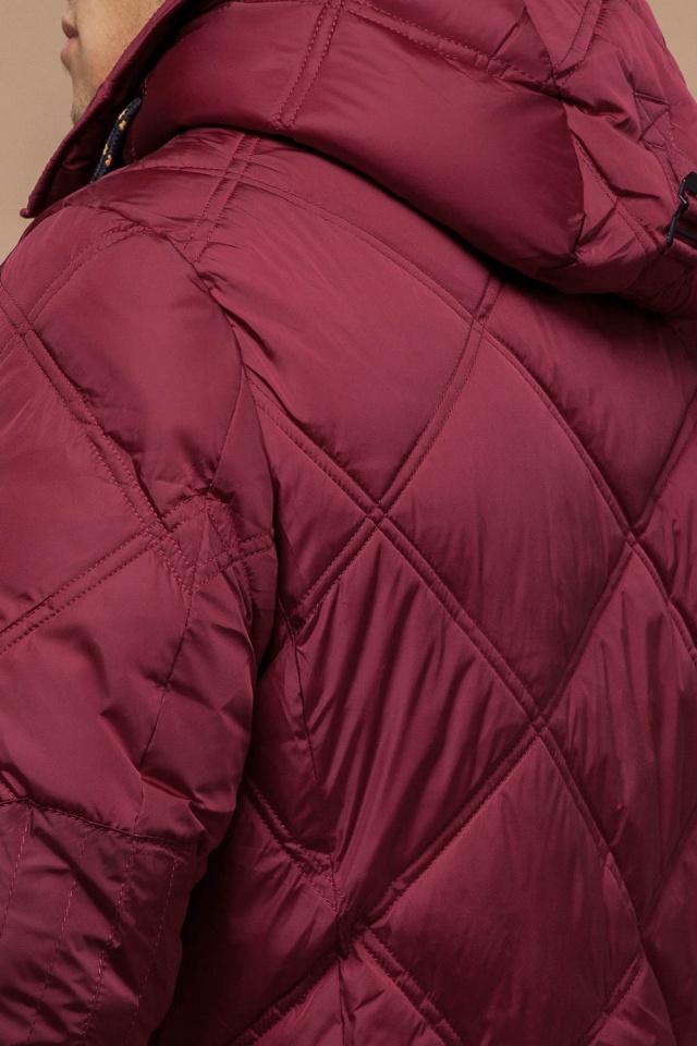 """Красная зимняя куртка стандартной длины мужская модель 12481 Braggart """"Dress Code"""" фото 8"""