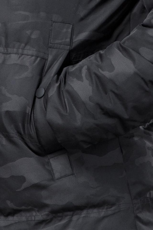Куртка дизайнерская зимняя мужская цвет черный модель 53759 Tiger Force фото 7