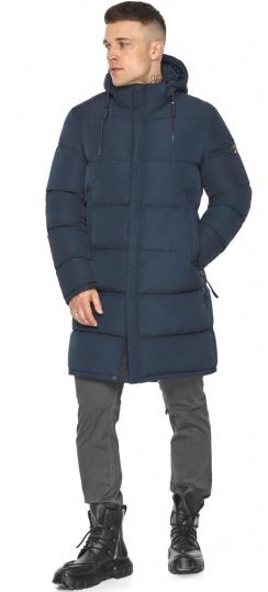 """Зимняя куртка с ветрозащитной планкой для мужчин цвет синий модель 49609 Braggart """"Dress Code"""" фото 1"""