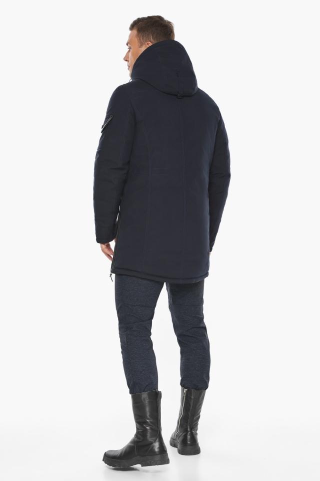 """Куртка – воздуховик комфортный на зиму мужской цвет синий модель 20140 Braggart """"Angel's Fluff Man"""" фото 7"""