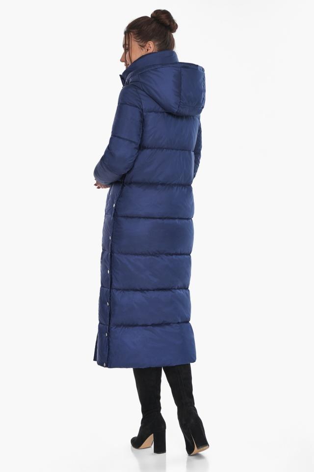 """Куртка с высоким воротником женская цвет синий бархат модель 41830 Braggart """"Angel's Fluff"""" фото 6"""