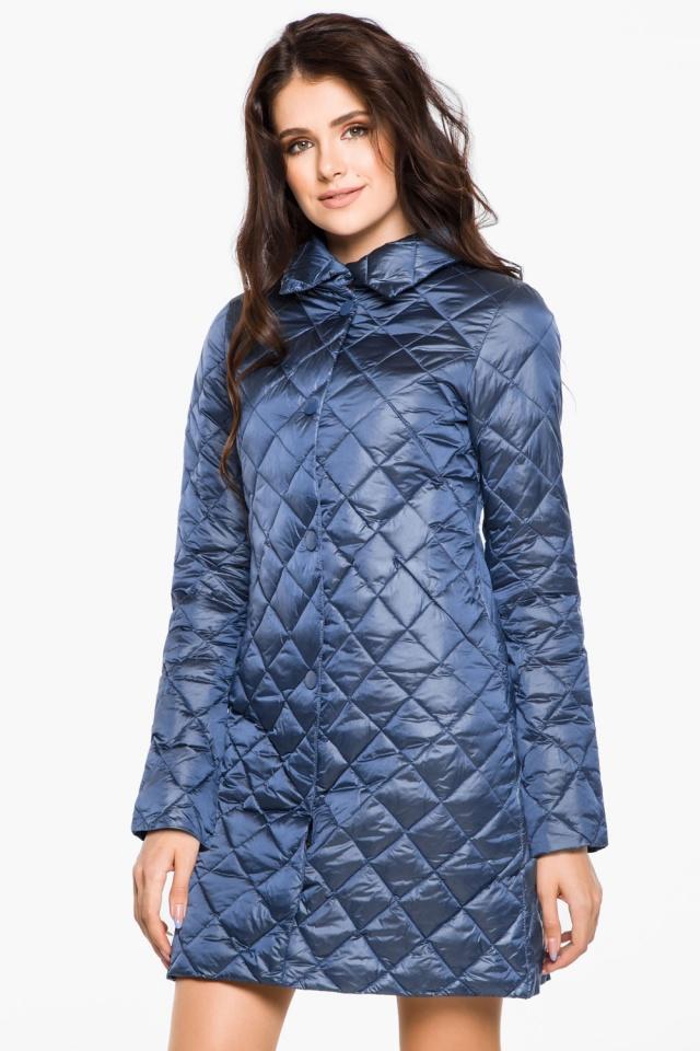 """Модная куртка женская осенне-весенняя цвет ниагара модель 20856 Braggart """"Angel's Fluff"""" фото 3"""