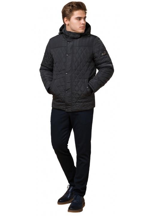 """Куртка трендова для хлопчика графітова модель 24534 Braggart """"Dress Code"""" фото 1"""